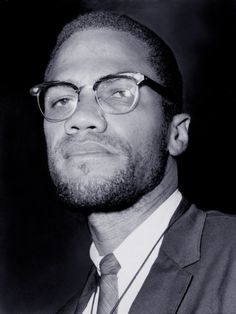 Malcolm X was a black Muslim activist that spoke out against the white Americans and told black Muslims to defend there selves by any means possible. Malcolm X, Black History Books, Black History Facts, Black Leaders, Human Rights Activists, By Any Means Necessary, Today In History, Thing 1, King Jr