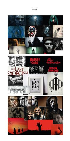 Genreboard - Horror