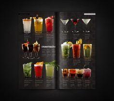 RAGU cafe   Identity   elements   menu by Feel Factory, via Behance