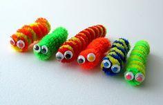 Pipe Cleaner Caterpillars