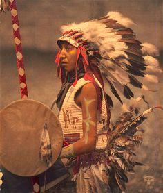 インディアン(ネイティブ・アメリカン)の貴重なカラー化写真 (31)