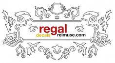 Regal design lace frame Free Vector