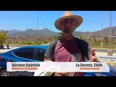 Video Review Volunteer Adriano Gabriele in La Serena CHILE Teaching program https://www.abroaderview.org