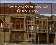 Tips On New Home Construction New Home Pinterest
