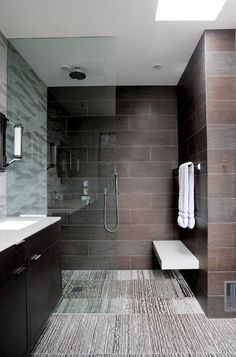 10 Ideas About Walk-in Shower With Seat & Without Seat [Elderly Friendly]  Tags: walk in shower with seat, walk in shower ideas for little restrooms, walk in shower no door, walk in shower remodel ideas, ceramic tile shower concepts  #Bathroom #BathroomIdeas #Shower #ShowerIdeas #WalkInShowerIdeas #WalkInShowerWithSeat #WalkInShower #walkinshowerremodelideas