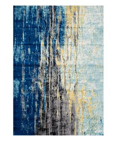 Another great find on #zulily! Blue Katharina Rug by nuLOOM #zulilyfinds