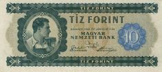 Hungarian Forint Budapest Hungary, Coin Collecting, Vintage Ads, Old Photos, History, Banknote, Image, Collection, The World