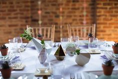 Image result for geometric wedding centerpieces