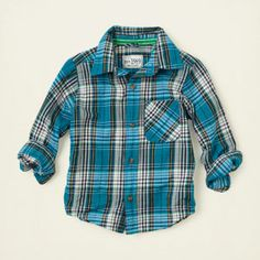 baby boy - plaid shirt | Children's Clothing | Kids Clothes | The Children's Place
