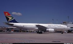 ZS-SDH South African Airways Airbus A300-200 Airplanes, Aircraft, African, Vehicles, Planes, Aviation, Plane, Car, Airplane