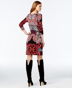 to be bought when on sale!  INC International Concepts Petite Printed Raglan Sheath Dress, Only at Macy's - Dresses - Women - Macy's