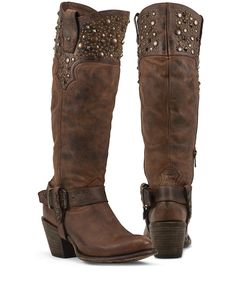 Regulus (rust)- Black Star Boots – Texas National Outfitters