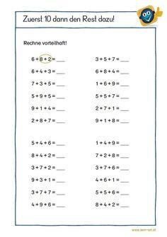 2nd Grade Math Worksheets, Kindergarten Math Activities, School Worksheets, 1st Grade Math, Math Sheets, Maths Solutions, Math Formulas, Numbers Preschool, English Writing Skills
