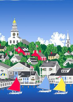 Image Detail for - Eric Holch Gallery Nantucket Posters