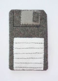 Items similar to iPod iPhone Pouch Cozy Case of Floppy Disk on Etsy Felt Case, Floppy Disk, Sewing Ideas, Ipod, Pouch, Cozy, Unique Jewelry, Handmade Gifts, Products