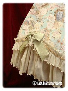 Fragrant Rose Memories Vivienne JSK - Skirt/hem detail