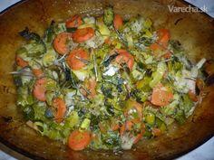 Kuracie (morčacie) rezne na rozmaríne (fotorecept) - Recept Vegetable Pizza, Quiche, Vegetables, Breakfast, Food, Diet, Morning Coffee, Essen, Quiches