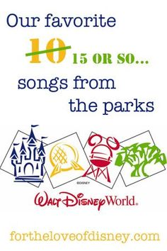 Disney Parks are known by many for their excellent music throughout specific lands. Here are our top 10 (or so) favorites from Walt Disney World!