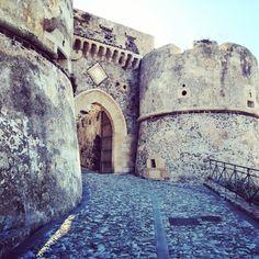 Castello di Milazzo nel Milazzo, Sicilia