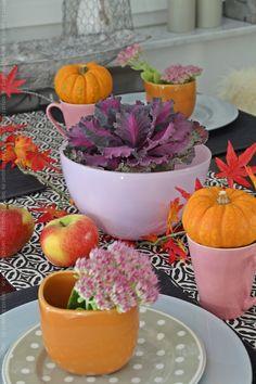 Herbstliche Tischdekoration Am Deko Donnerstag Und Jede Menge Gewinner