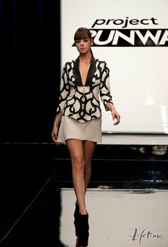 Laura Kathleen's runway design - #ProjectRunway season 9 episode 12 The Final Challenge - #Fashion #Collection #Model #Catwalk