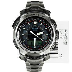 Compre Casio Protrek Titanium Men Watch PRG-510T-7 PRG510T O preço mais baixo Garantia Internacional Frete grátis para Cingapura EUA Japão Hong Kong Coreia do Melhor Preço