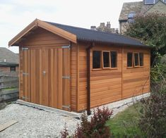Wooden Garages UK, Timber Garages For Sale - Tunstall Garden Buildings Wooden Carports, Wooden Garages, Aluminum Carport, Carport Sheds, Garage Construction, Wooden Workshops, Timber Garage, Storage Shed Organization, Oak Framed Buildings