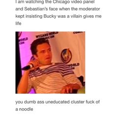 Protect yourself as much as Sebastian Stan protects Bucky Barnes.