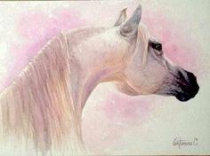 White Titan-watercolor Original Antonino