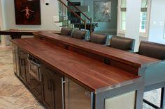 barn, butcher block counter tops   Wood Countertops - Butcher Block - Wood Kitchen Island   J. Aaron