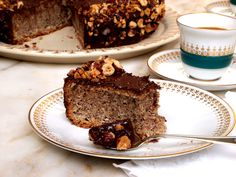 Flourless Chocolate Hazelnut Cake - Gluten-free and easy to make with step-by-step pictures.