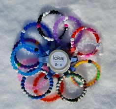 $5.99 - NEW Colors! Silicone Bracelet with Everest Water and Dead Sea Mud