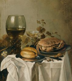 Koller Auctions - Old Master Paintings - Peter Claesz 1644, Still life.