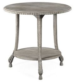 Moxby Side Table, Ash Gray