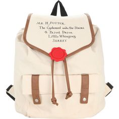 Harry Potter Hogwarts Letter Slouch Backpack Hot Topic ($26) ❤ liked on Polyvore featuring bags, backpacks, drawstring backpack, pink drawstring bags, initial bags, drawstring backpack bags and slouch bag