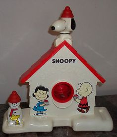 Snoopy ice shaver. I totally had this!!