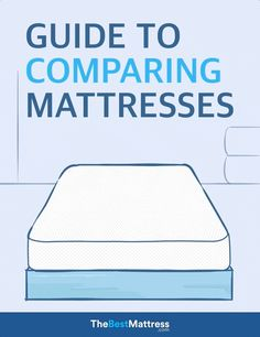 Read our mattress comparison to learn about the differences in memory foam, latex, and innerspring mattresses and find the most comfortable bed for you. Best Mattress, Mattress Brands, Mattress Comparison, Healthy Sleep, Good Sleep, Mattresses, Good Things, House, Home