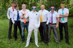 друзья жениха на свадьбе #wedding #groomsmen
