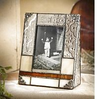 Buy Free Standing Beveled Glass Picture Frame - 2x3 By J Devlin - J. Devlin Glass Art - Artcraft Gifts