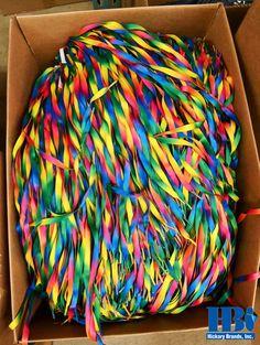 One of the many boxes full of wonder and joy #shoelaces #colorful #manufacturingintheUSA