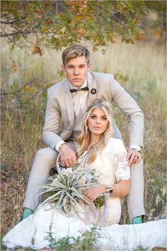 Mint socks on the groom! #grayandwhitewedding