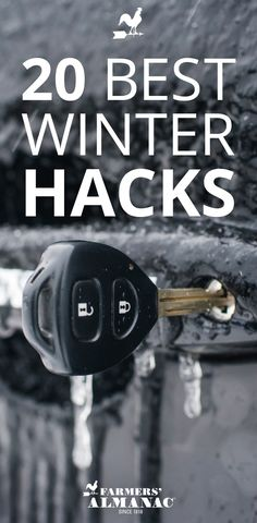 20 Best Winter Life Hacks - Farmers' Almanac - It's our mission to help make your life easier so we compiled a list of 20 of our very best tips and advice to get you through the toughest (and longest) season of the year. Winter Hacks, Winter Tips, Survival Prepping, Survival Skills, Off Grid System, Old Farmers Almanac, Car Buying Tips, Winter Survival, Car Hacks