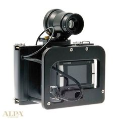 ALPA of Switzerland - Manufacturers of remarkable cameras - Alpa 12 Metric, a medium-format digital camera system