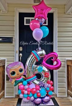 Diy Birthday Decorations, Balloon Decorations Party, Balloon Centerpieces, Baby Shower Decorations, Large Balloons, Number Balloons, Birthday Balloons, Birthday Parties, Busquets