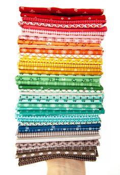 Prim designed by Lori Holt for Riley Blake Designs Pattern Blocks, Quilt Patterns, Churn Dash Quilt, Kinds Of Fabric, Riley Blake, Fabulous Fabrics, Baby Quilts, Fabric Crafts, Fabric Design
