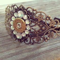 45 Bullet Bling Bracelet - $34.00