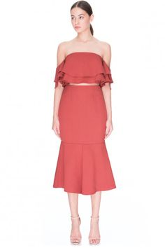 Keepsake two fold skirt