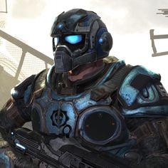 Gears of War 2 - Carmine by gamerscoreblog, via Flickr