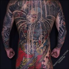 #tattoo #japanesetattoo #japanesestyletattoo #danshichi...