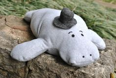 Hugh the Manatee Pillow Pet Sewing Pattern